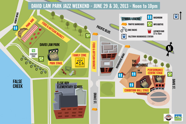 David Lam Park Stage Map