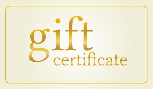 Coastal Jazz Gift Certificates